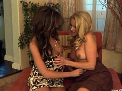 Watch these gorgeous ladies making your day as they please each other with hot lesbian sex in front of the camera.