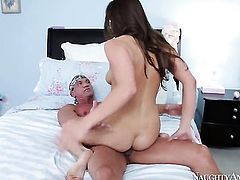 Marco Banderas is horny as hell and cant wait no more to fuck unthinkably sexy Teal Conrads bush