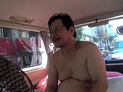 Eri Makino has sex with ugly man