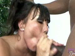 If there's one chick who knows how to take a big black cock in her ass, it's Ava Devine! This horny MILF loves getting fucked and the biggger is the better when she takes it in her ass.