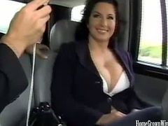 Checkout this busty brunette milf Cynthia Pendragon, sucking and fucking a big hard cock outdoors. Today our busty milf want to have her pussy drilled out in the nature. She gives a good head before getting fucked in her tight wet pussy and gets load of cum in her mouth. Enjoy!