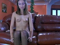 E Pantyhose Land brings you a hell of a free porn video where you can see how a sexy brunette in sexy black panythose dildos her cunt into a breathtaking orgasm.