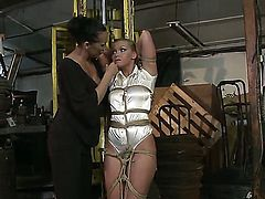 Hot and naughty Kathia Nobili and Mandy Bright in a spectacular BDSM video