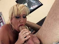 Blonde mom Alana Evans lets Jordan Ash fuck all her holes