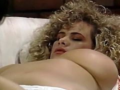 Hot blooded hungry lesbians lick hot kitties of each other in 69 style