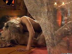 Eros Exotica brings you a hell of a free porn video where you can see how this sensual blonde gets her tight ass blasted hard and deep into a massive anal orgasm.