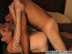 A mature amateur couple homemade hardcore action with blowjob and fuck ending with facial cumshot !