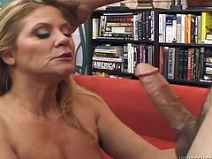 Make sure you check out this hardcore scene where the horny blonde mature Ginger Lynn is fucked silly by a guy until she's covered by semen.
