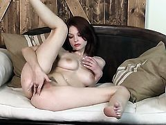 Bree Daniels fucking herself with toy