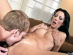 Zoey Holloway is curious about oral sex with hot guy