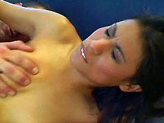Mystical babes come one in a million so don't dare miss this curvy amateur Latina in her incredible pussy pumping fun.