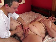 Busty experienced whore sucks massive cock and gets her loose fish taco pounded in a sideways pose. Then she rides that dick on top and gets nailed mish.