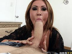 Check out this great hardcore scene where the busty mommy Kianna Dior is fucked by a monster cock until her face's covered by cum.