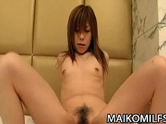 Maiko Milfs brings you a hell of a free porn video where you can see how this nasty brunette Japanese milf Yasuko Miyawaki gets banged hard into a huge orgasm.
