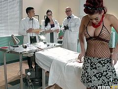 Take a look at this hardcore scene where this horny doctor has sex with the smoking hot patient Ryder Skye, a breath taking redhead.