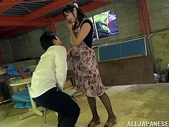 Yummy Emiko Ejima Rides Like A Wild Cowgirl On Top Of A Guy