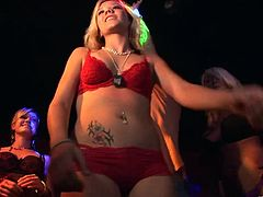 Take a look at this hot party scene and be startled by these sexy ladies and their amazing bodies while wearing sensual underwear.