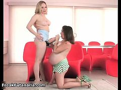 Pregnant babe s so horny when she part4
