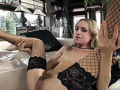 Rocco Siffredi before she gets fucked in her asshole