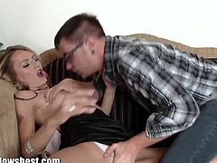 SKinny MILF gets doggy fucked on the ouch and there is no stopping this hardcore pussy assault on camera. Slutty milf Natasha has been waiting for her anniversary dinner and she wants Dane Cross.