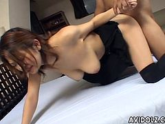 Dirty Asian pussy shagged like never before