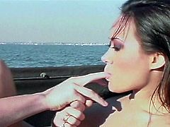 Way hotter than the sun as this hardcore yacht cruising will take you away in nasty sweet pussy injection fun adventure.