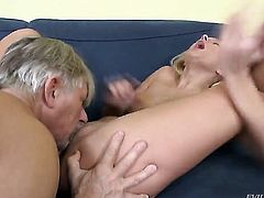 Vanessa Praud takes Christoph Clarks pole in her asshole doggystyle