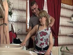 Aged acquires son in law private action and his cougar comes in