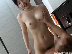 They were enjoying taking a bath until it goes hotter for a hardcore fuck scene. The Japanese cowgirl rides the cock rough and wild in the bed.