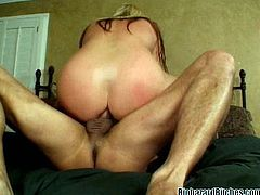 Blonde Babe Gets Her Asshole Gaping After A Rough Anal
