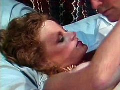 Classic Porn Scenes brings you a hell of a free porn video where you can see how this vintage redhead slut gets banged very hard and deep into a massive orgasm.