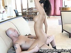 Eye-popping exotic minx Asa Akira and Jenner have a lot of fun in this steamy hardcore action