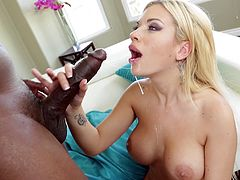 Perfect Blonde Gets Her Yummy Ass Hardcore Fucked