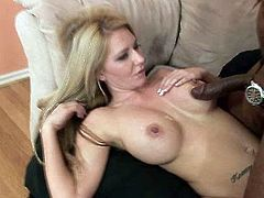 Crazy fake tits of sensual white harlot Ashley Winters