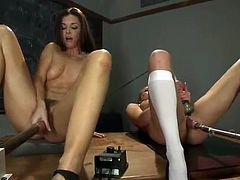 Aiden Aspen,India Summer play sex game round xxx Machines inside the Classroom