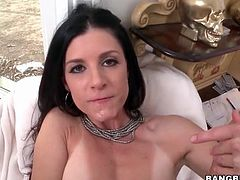 Anal sex with beautiful milf India Summer
