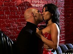 Exotic and Johnny Sins  Jordan Ash  Scott Nails howl in lesbian ecstasy