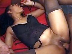 ebony girls gets anal