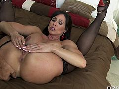 Take a look at this great hardcore scene where the smoking hot milf Kendra Lust is eaten out before being fucked by a large cock.
