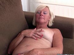 Hot grannies Sabine, Fannie and Isabel love masturbating in pantyhose.See how these horny grannies strips off and shows there hairy cunts and big tits, while fingering nicely.