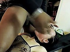 Gorgeous hot babe fucked hard