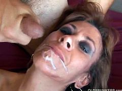 Granny Mikela sits on hard dick. Sexy older babe Mikela loves facial cumshots. They are on to anything fervent as long as their cravings get satisfied. They will give you one horny time today as they fuck the best of each other on camera.