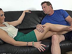 hubby satisfies his wife.