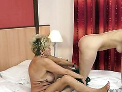 Blonde Malya and Beata Undine have a lot of fun in this lesbian action