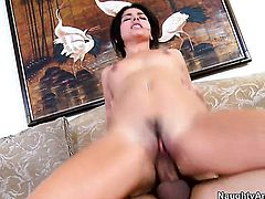Anthony Rosano bangs Danica Dillon as hard as possible in sex action