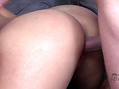 Arab Mistress brings you a hell of a free porn video where you can see how this hot blonde gets banged on top of her slaves while assuming very naughty poses.