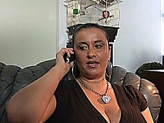 Chayenne is a Busty Milf with Huge Melons getting fucked by a young guy.