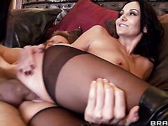 Erik Everhard buries his throbbing tool in incredibly sexy Ava Addams  Missy Martinezs booty