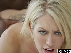 Blacked brings you a hell of a free porn video where you can see how the vicious blonde slut Capri Cavanni enjoys a big black cock as she gets banged into heaven.