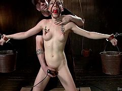 chained and fucked by her kinky executor